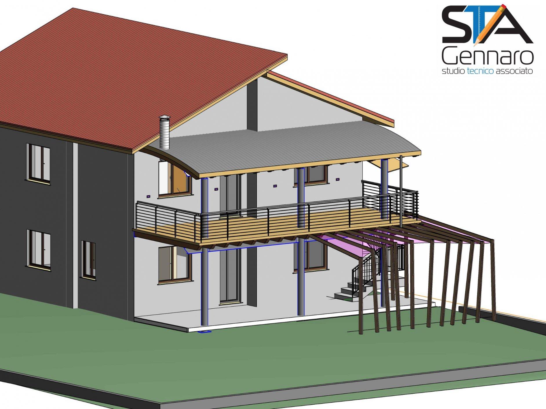 Ampliamento piano casa studio tecnico associato gennaro studio tecnico associato gennaro - Ampliamento casa ...