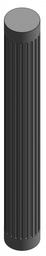 Pilastro - Circolare con bugnature